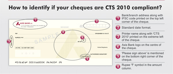 Axis-Bank-CTS-2010 compliant-cheque-sample