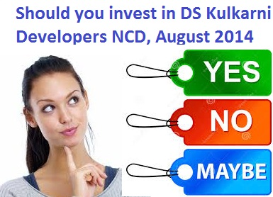 DS Kulkarni Developers Secured NCD-Aug-14