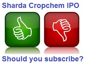 Sharda Cropchem IPO