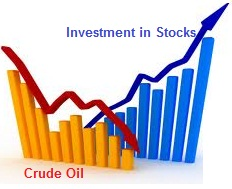Which stocks would benefit during falling Crude Oil Prices