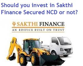 Sakthi Finance NCD Feb, Mar 2015