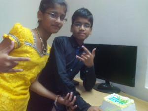Apoorva (Daughter) and Akhil (Son) - 3rd birthday celebrations