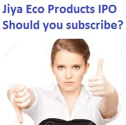Jiya Eco Products Limited IPO