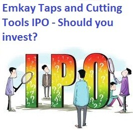 Emkay Taps and Cutting Tools Ltd IPO