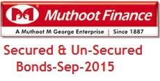 Muthoot Finance NCD-Sep,Oct-2015