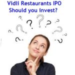 Vidli Restaurant IPO Review
