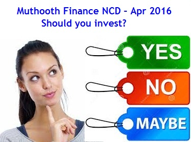 Muthoot Finance NCD-Mar-Apr-2016 Review