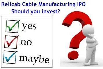 Relicab Cable Manufacturing IPO Review