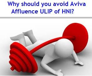 Why should you avoid Aviva Affluence ULIP of HNI