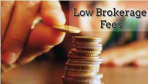 low brokerage fees