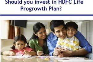 Should you invest in HDFC Life Progrowth ULIP Plan