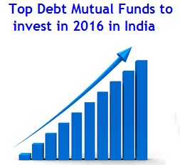 Top Debt Mutual Funds to invest in India in 2016