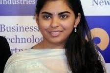 Isha Ambani daughter of mukesh Ambani-Top Billionaire daughters in India