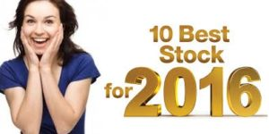 Top 10 Best Stocks to invest in 2016 in India