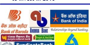 Top and Best Banking Stocks PSU to Invest in 2016
