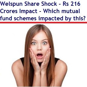 Welspun Share Shock - Which mutual fund schemes impacted by this