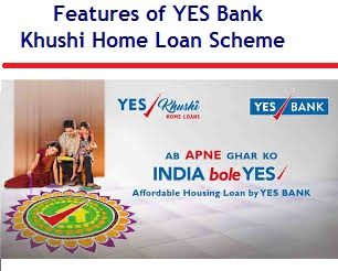 8 Features of YES Bank Khushi Home Loan Scheme | Myinvestmentideas com