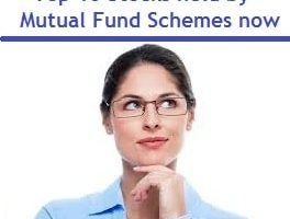 Top 10 Stocks held by Mutual Fund Schemes now-min