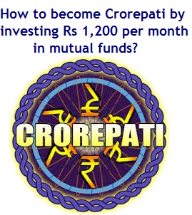 How to become Crorepati by investing Rs 1200 per month in mutual funds