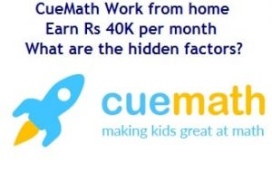 Cuemath - work from home - review-min