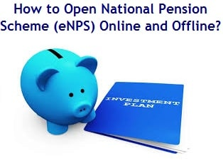How to Open National Pension Scheme (eNPS) Online and Offline-min