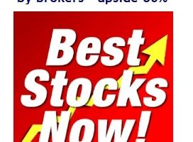 10 Best Stocks recommended by brokers – Potential upside 80%