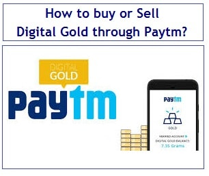 How to buy or Sell Digital Gold through Paytm? | Myinvestmentideas com