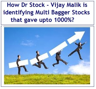 How Dr Stock - Vijay Malik is identifying Multi Bagger Stocks for investment