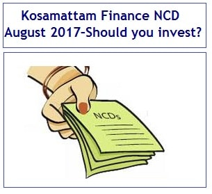 Kosamattam Finance NCD August 2017 Review-min