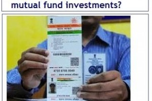 How to link your Aadhaar card to mutual fund investments