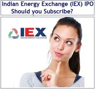 Indian Energy Exchange (IEX) IPO - Should you Subscribe