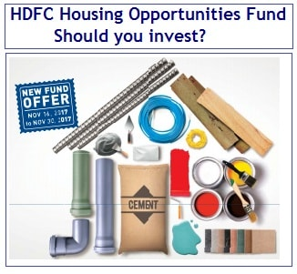 HDFC Housing Opportunities Mutual Fund NFO – Should you invest-min
