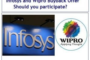 Infosys and Wipro Buyback Offer of shares - Should you participate-min