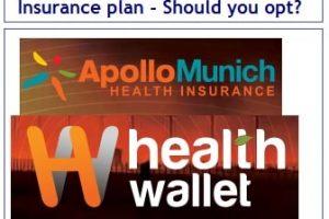 Apollo Munich Health Wallet Health Insurance plan Review-min