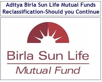 Aditya Birla Sun Life Mutual Fund Schemes Reclassification - Should you continue or exit-min