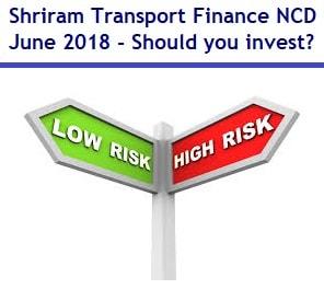 9.5% Shriram Transport Finance NCD June 2018 – Should you invest?