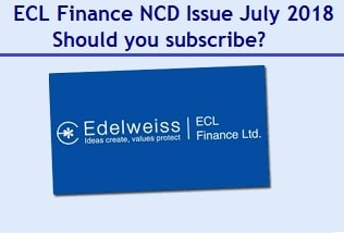 ECL Finance NCD Issue July 2018 Review