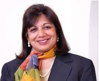 Most Successful Female Entrepreneurs in India-Kiran Mazumdar Shaw