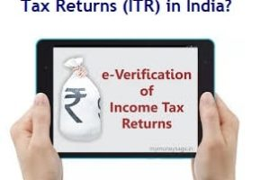 How to e-Verify Income Tax Returns (ITR) in India