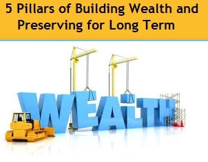 5 Pillars of Building Wealth and Preserving for Long Term
