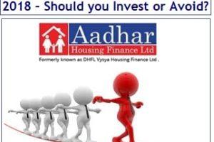 Aadhar Housing Finance NCD Sep 2018 – Invest or Avoid