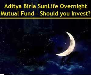 Aditya Birla Sun Life Overnight Mutual Fund - Should you Invest