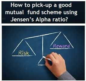How to pick-up a good mutual fund scheme using Jensen's Alpha ratio
