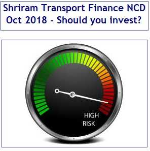 Shriram Transport Finance NCD Oct 2018 Review
