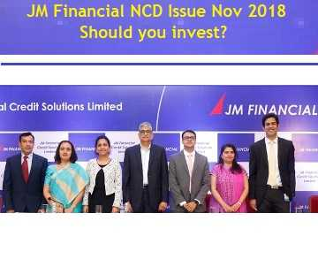 JM Financial Credit Solutions NCD Issue Nov 2018