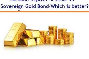 SBI Revamped Gold Deposit Scheme Vs Sovereign Gold Bonds – Which is better