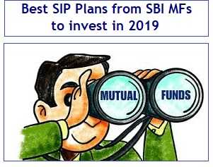 Best SIP Plans from SBI Mutual Funds to invest in 2019