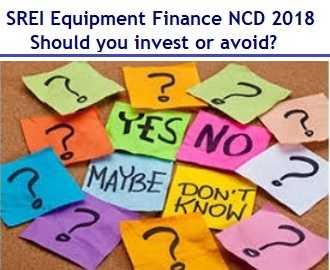 SREI Equipment Finance NCD Dec 2018 Review