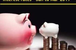 Latest and Revised Post Office Small Saving Interest rates – Jan to Mar-2019 Review