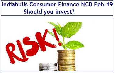 Indiabulls Consumer Finance NCD Feb-Mar 2019 Issue – Should you invest?